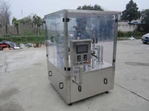One Header Rotary Type Nespresso Capsules Filling Sealing Machine