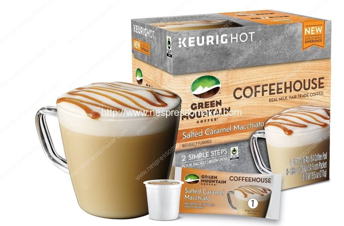 Green Mountain Coffee unveils original Coffeehouse beverages