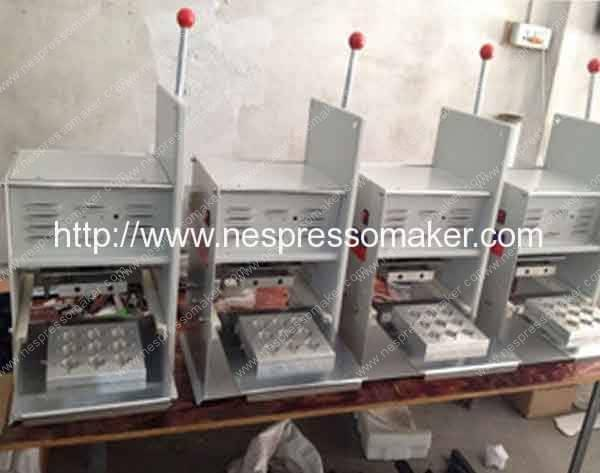 Manual Type Nespresso Capsules Sealing Machine