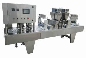 RML-12 Twelve Lane Nespresso Coffee Capsules Filling Sealing Machine