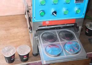 Roll Film Manual Nespresso Sealing Machine