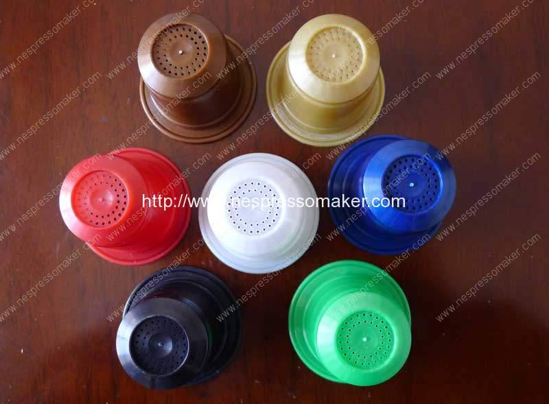 Biodegradable Nespresso Compatible Capsules Filling Sealing Machine Delivery for United Kingdom Customer